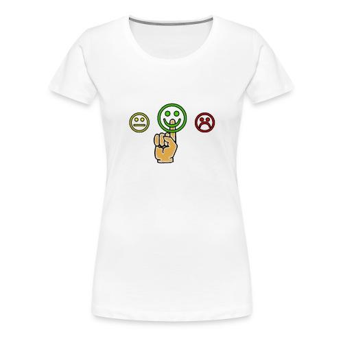 optimismo - Camiseta premium mujer