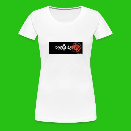 GAMER360 - Maglietta Premium da donna