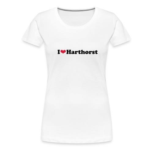 iloveharthorst - Frauen Premium T-Shirt