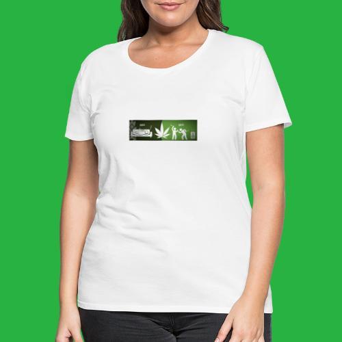 Indica Sativa effect - Frauen Premium T-Shirt
