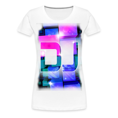 DJ by Florian VIRIOT - T-shirt Premium Femme