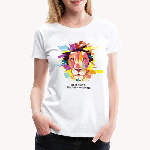I colori della Savana - Maglietta Premium da donna