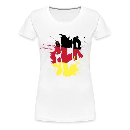 GERMANY.png - T-shirt Premium Femme