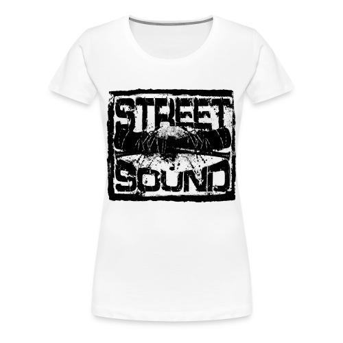 Street Sound - Frauen Premium T-Shirt