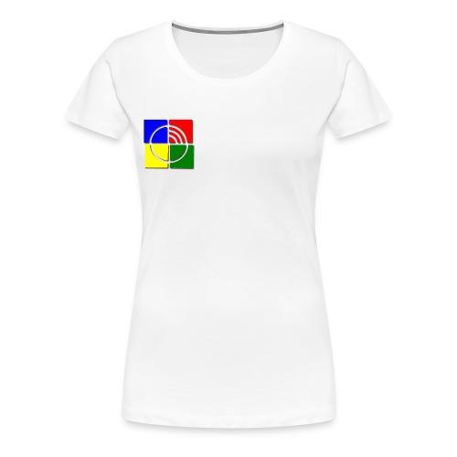 jungschar logo schatten - Frauen Premium T-Shirt