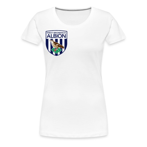 West Bromwich Albion Official Merchandise - Women's Premium T-Shirt