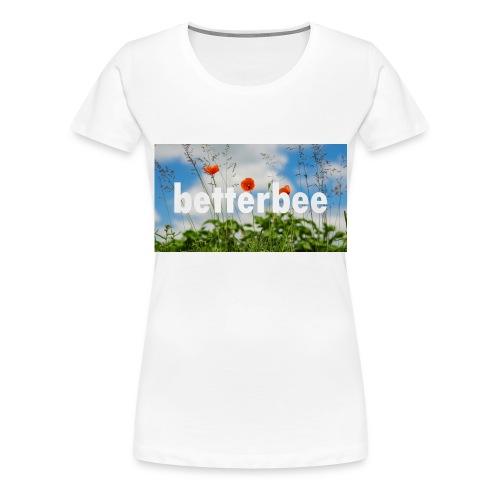 betterbee Banner T-Shirt - Frauen Premium T-Shirt
