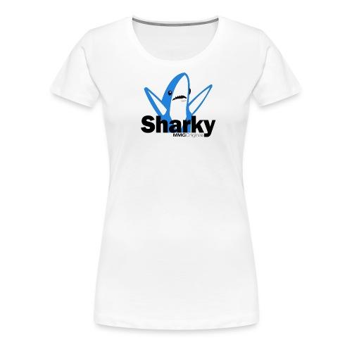 Sharkyv2 png - Vrouwen Premium T-shirt