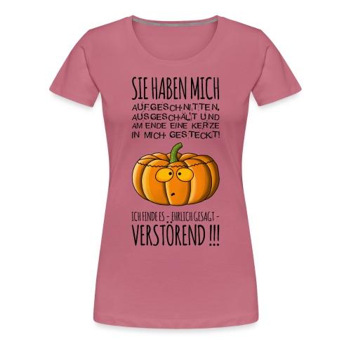 armer Kuerbis - Frauen Premium T-Shirt