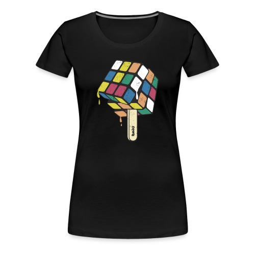 Rubik's Cube Ice Lolly - Women's Premium T-Shirt