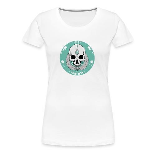 ACUASKULL - Camiseta premium mujer