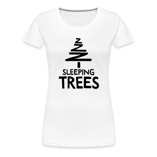 SleepingTrees Black png - Women's Premium T-Shirt