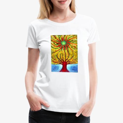 Green Sun - Koszulka damska Premium