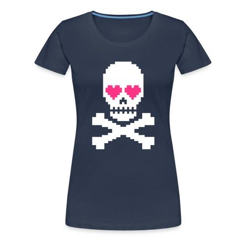 Skull Love - Vrouwen Premium T-shirt