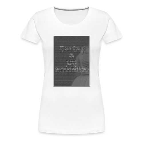 Cartas a un anónimo - Camiseta premium mujer