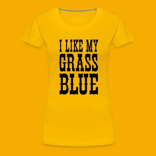 bluegrass - Vrouwen Premium T-shirt