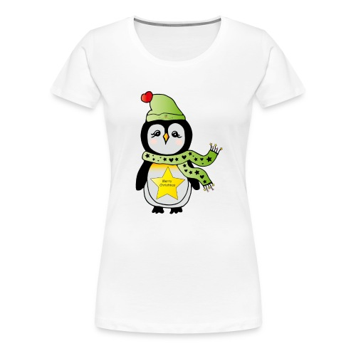 Christmas Pinguin - Frauen Premium T-Shirt