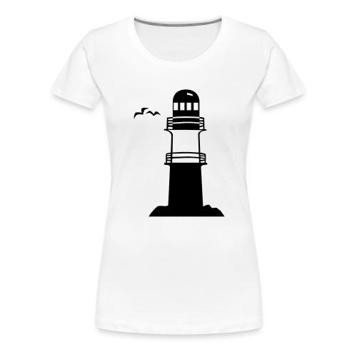Leuchtturm - Frauen Premium T-Shirt