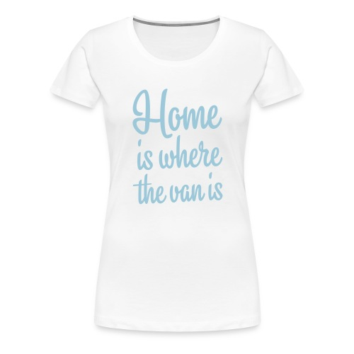 camperhome01b - Premium T-skjorte for kvinner
