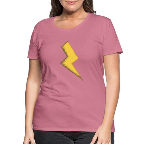 Fulmine - Maglietta Premium da donna