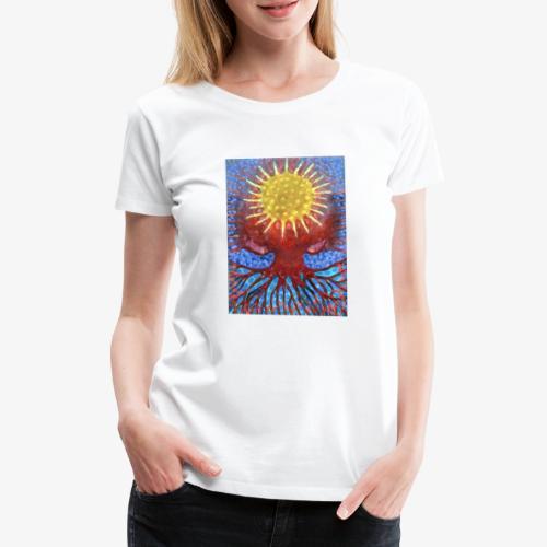 Niebiańskie Drzewo - Koszulka damska Premium