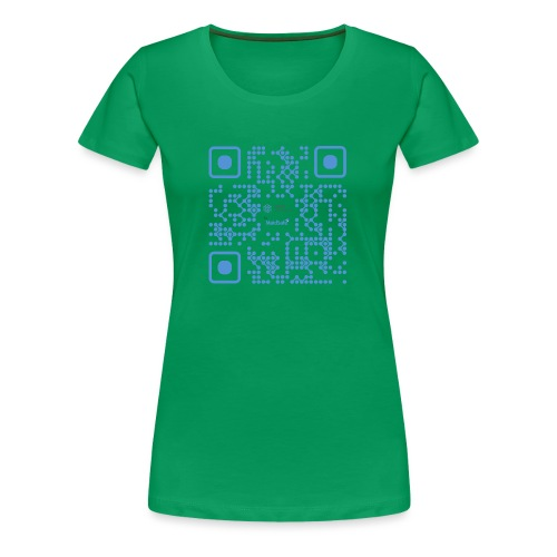 QR Maidsafe.net - Women's Premium T-Shirt