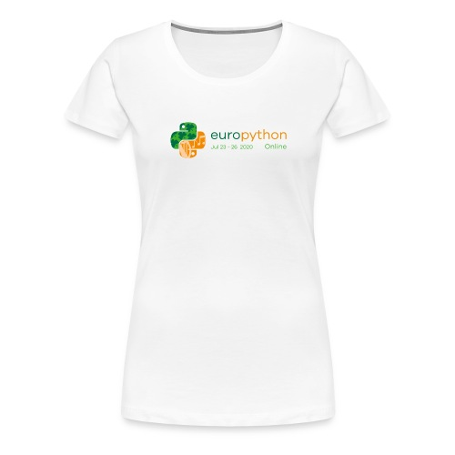 EuroPython 2020 - Color Logo - Women's Premium T-Shirt