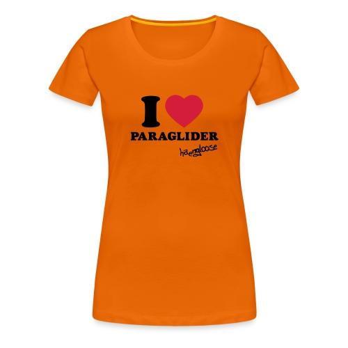 iloveparaglider - Frauen Premium T-Shirt