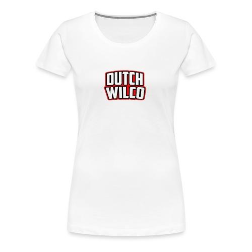 Dutchwilco-Logo - Vrouwen Premium T-shirt