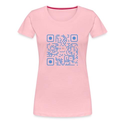 QR Maidsafe.net - Women's Premium T-Shirt