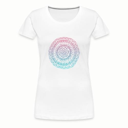 mandala - T-shirt Premium Femme