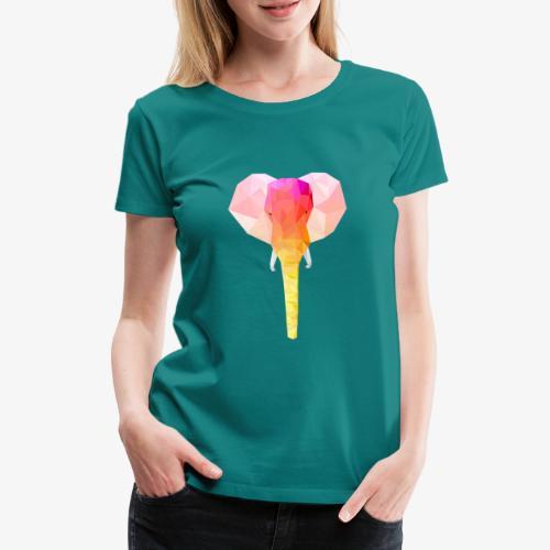 Elephant - T-shirt Premium Femme