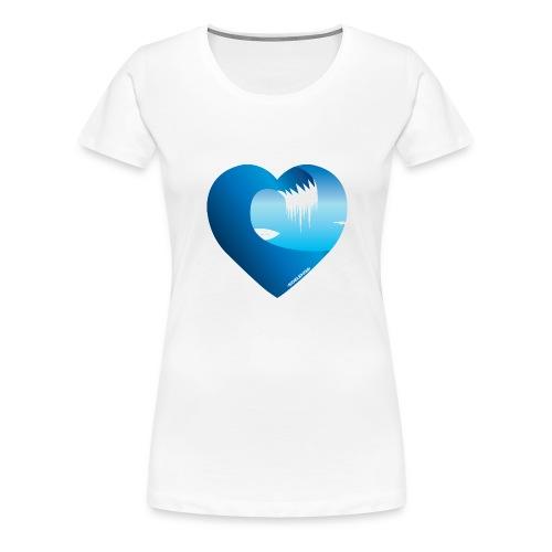 Min Bølge Arctic Surfers - Premium T-skjorte for kvinner