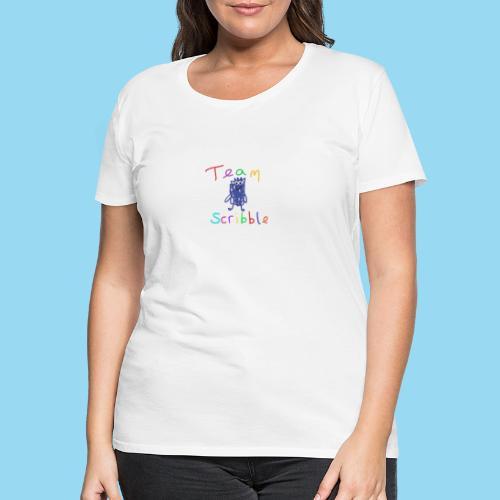 Team Scribble - Women's Premium T-Shirt