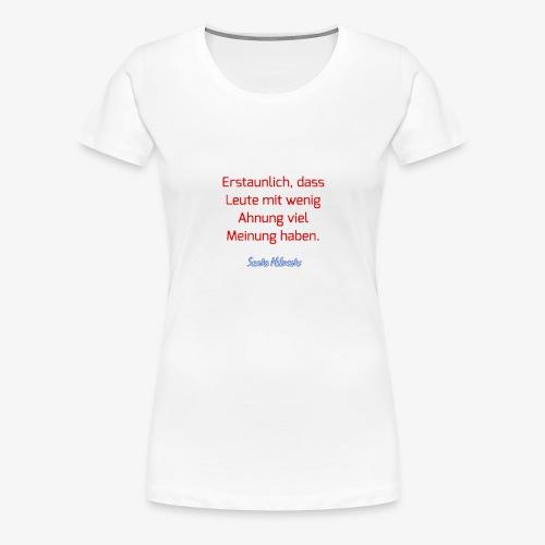 20180106 150838 - Frauen Premium T-Shirt