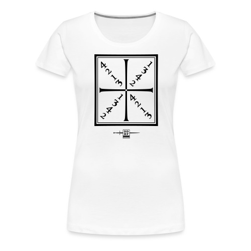 Meyerrad 1 - Frauen Premium T-Shirt
