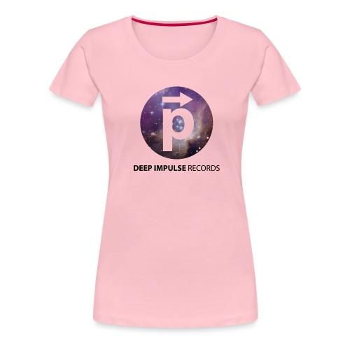 Spacelogo White BG 01 - Women's Premium T-Shirt
