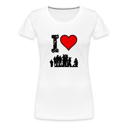 I Love Spotting - Maglietta Premium da donna