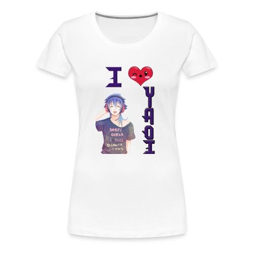 I love Yaoi ( Aoba ) - Camiseta premium mujer