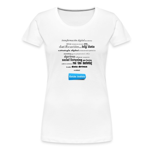 Marketing buzzwords - Camiseta premium mujer