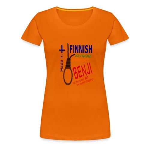 FINNISH-BENJI - Women's Premium T-Shirt