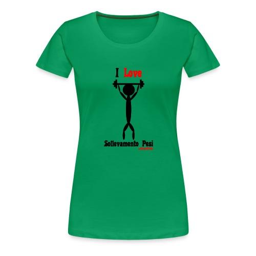 Sport #FRASIMTIME - Maglietta Premium da donna