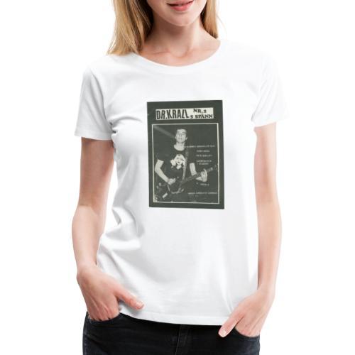 Svart Dr Krall - Premium-T-shirt dam