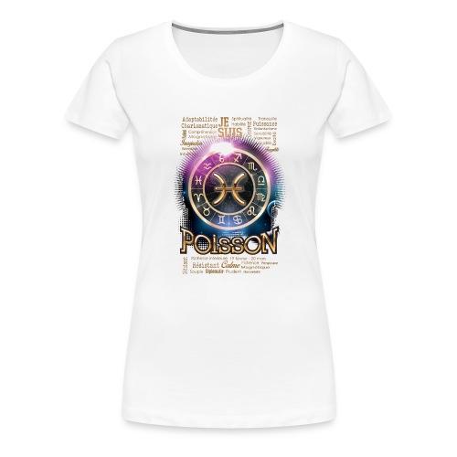 POISSONS - T-shirt Premium Femme