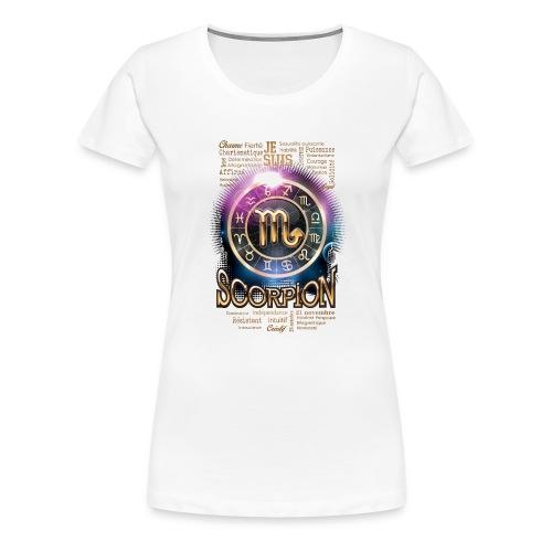 SCORPION - T-shirt Premium Femme