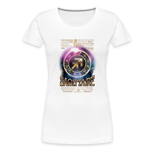 SAGITTAIRE - T-shirt Premium Femme