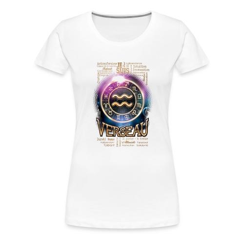 VERSEAU - T-shirt Premium Femme