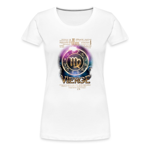 VIERGE - T-shirt Premium Femme