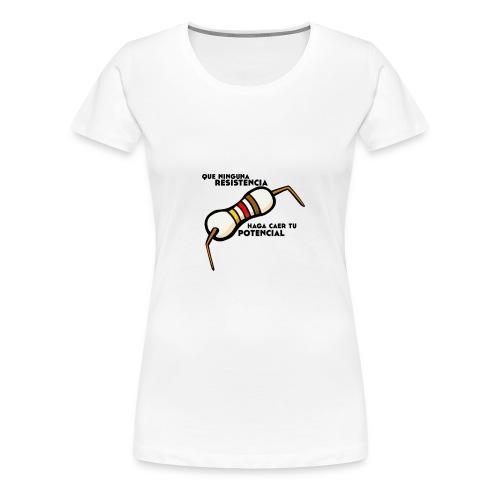 - ResistPotencial - - Camiseta premium mujer