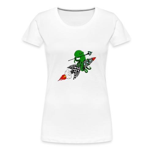 inktvis strijder - Vrouwen Premium T-shirt